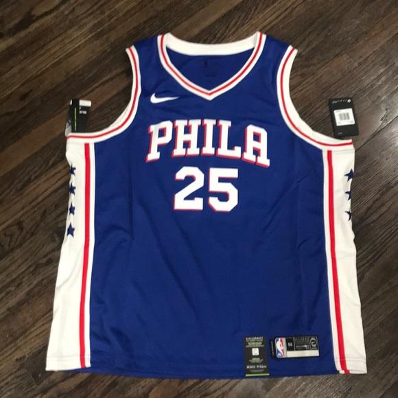 info for 4da76 c1d54 Ben Simmons Philadelphia 76ers Nike Jersey